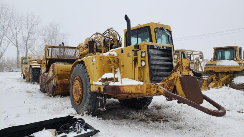 Used 627 motor scrapers for sale in Sask