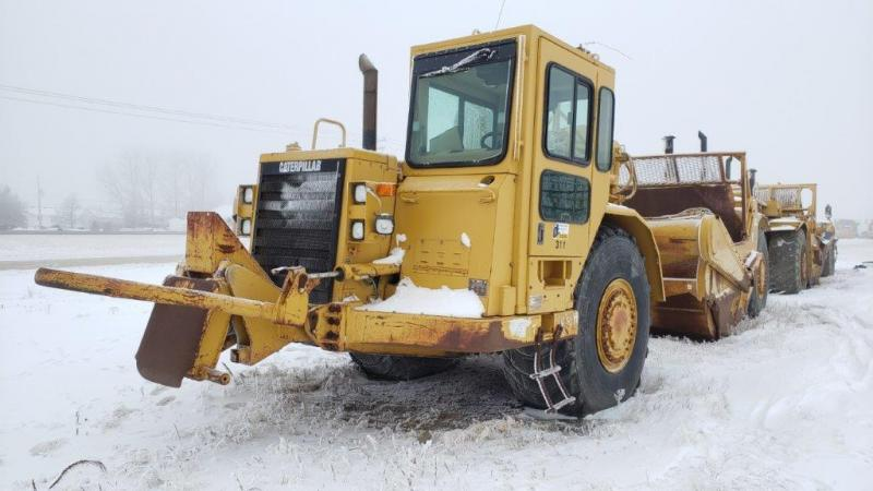 Used Cat 627F motor scrapers for sale in Saskatchewan