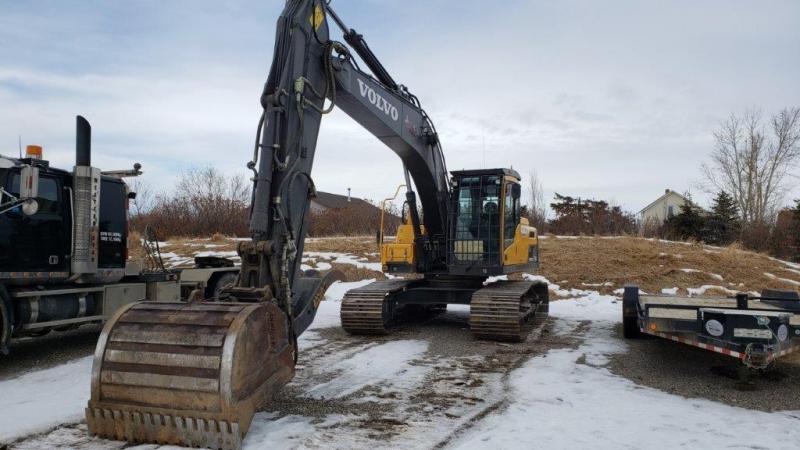 Used Volvo excavators for sale in SK, AB, BC