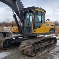 Used Volvo EC220 excavator for sale in Alberta