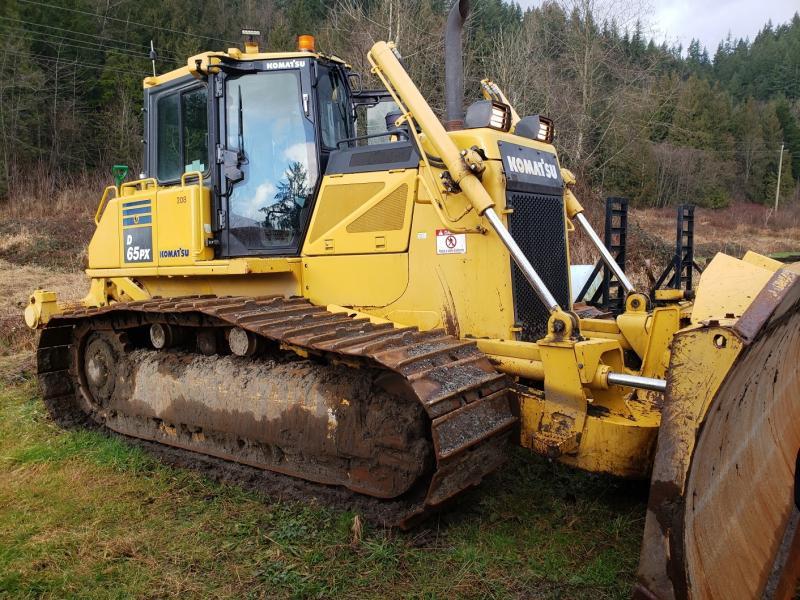 Used Komatsu D65 bulldozers for sale in British Columbia