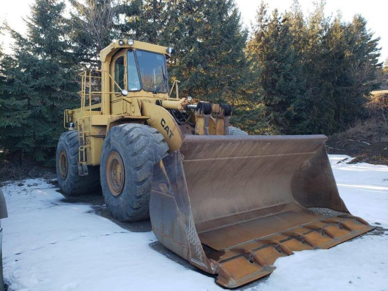 Used Cat wheel loaders for sale in BC