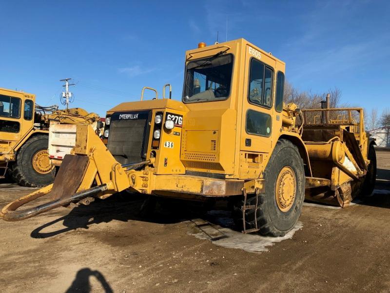 Used 627G scrapers for sale in Sask, Alberta