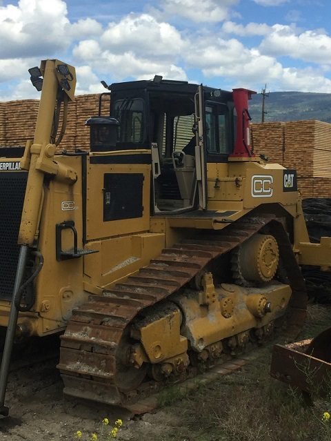 Used D8R dozers for sale in BC