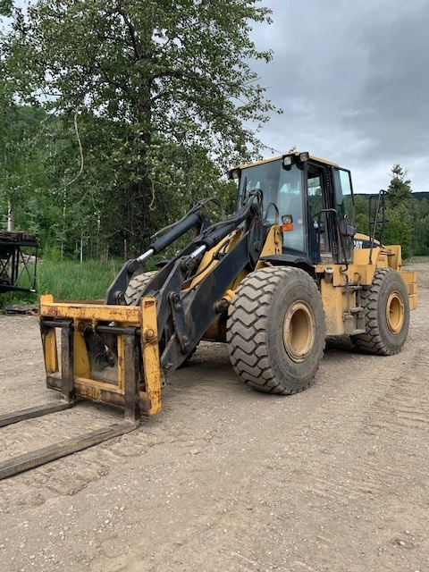 Used Caterpillar IT62G ITC wheel loader for sale