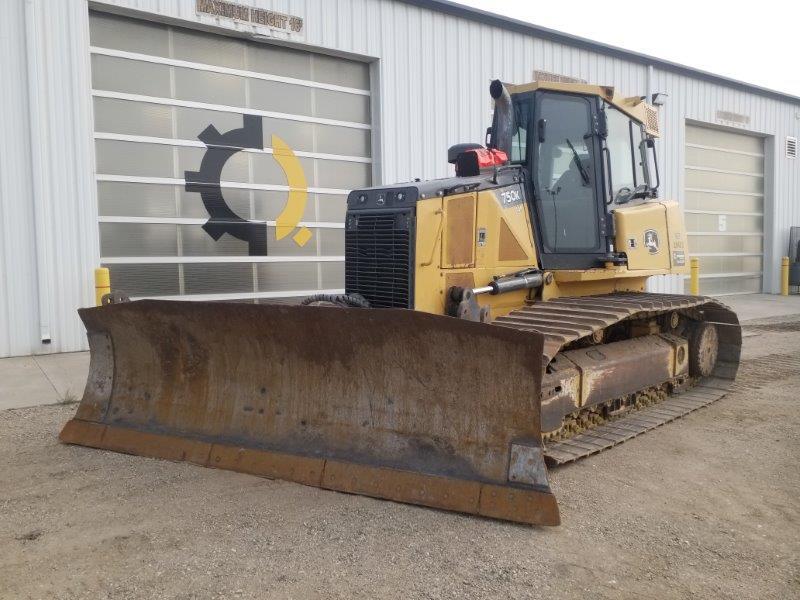 Deere 750K dozer rental in Saskatchewan