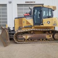 Deere 750 dozer for rent in SK, AB, MB