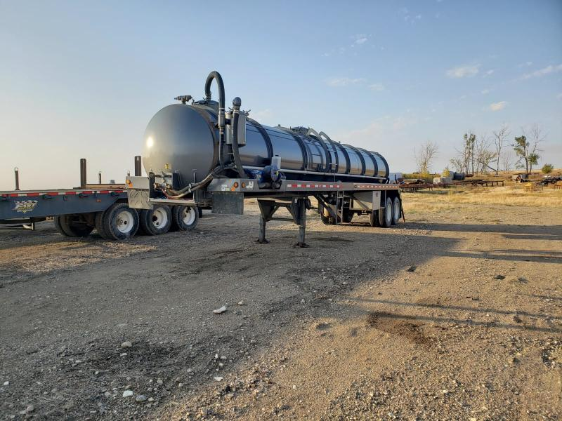 Used Vacuum Tank Trailer For Sale In ND