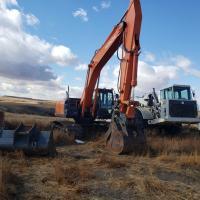 Used Hitachi ZX250 LC-5N excavator for sale in North Dakota
