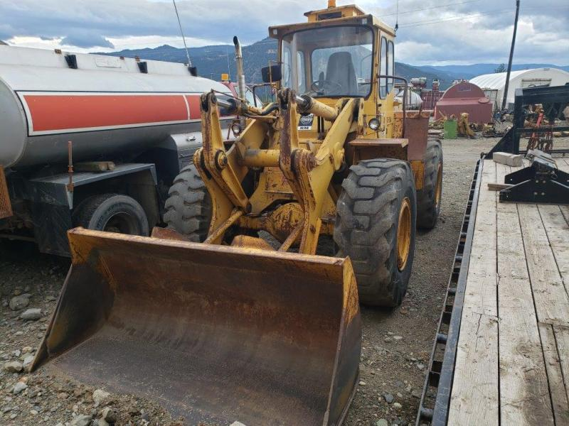 Used Volvo wheel loader for sale in BC