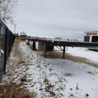 Used B-Train flatbed trailer for sale in Manitoba