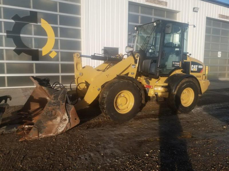 Small Cat loader for rental in SK