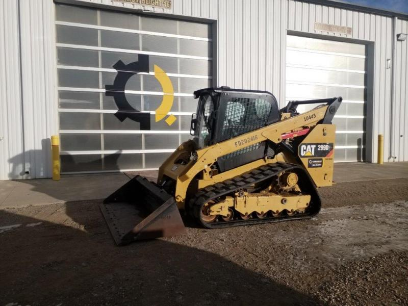 Used Cat 299 skid steer for sale or rent