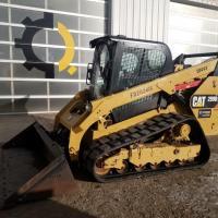 Caterpillar 299 track loader rental in Saskatchewan
