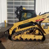 Cat 299 skid steer loader rental in SK, MB, AB, BC