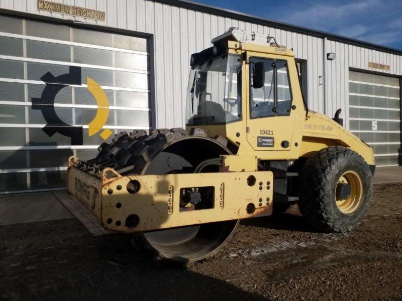 Used Bomag BW211 for sale in SK, AB, BC