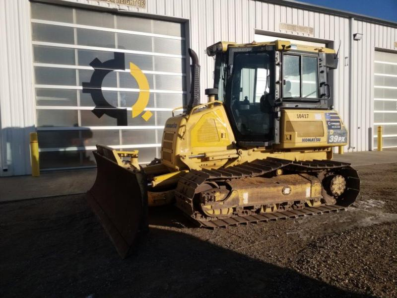 Used Komatsu D39 for sale or rent in SK, MB, AB, BC