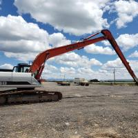 Used 240 size long reach excavator for sale