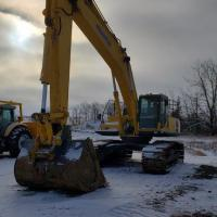 Used Komatsu excavators for sale in Saskatchewan