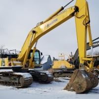 Used 40 ton excavators for sale in SK, MB, AB