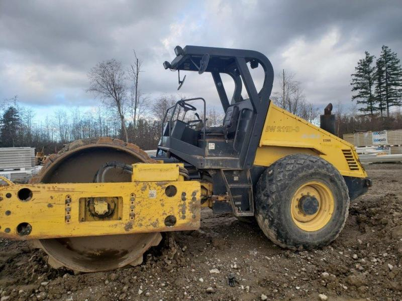 Used open cab 84 inch roller for sale in BC