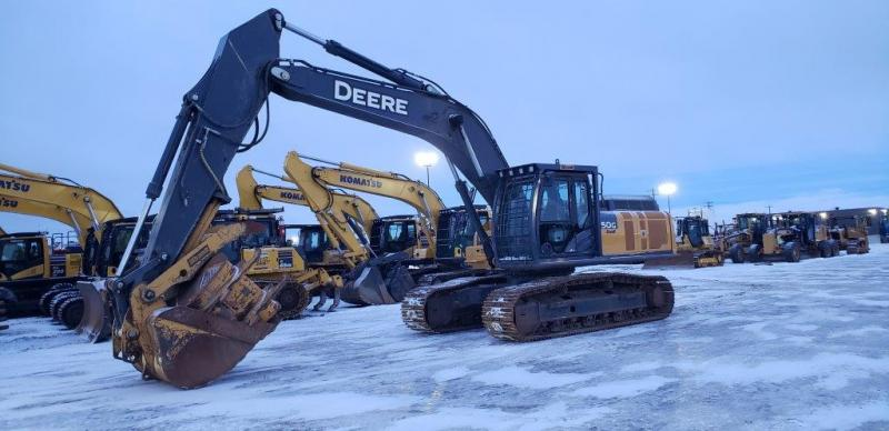 Used Deere 350G LC excavator for sale in AB