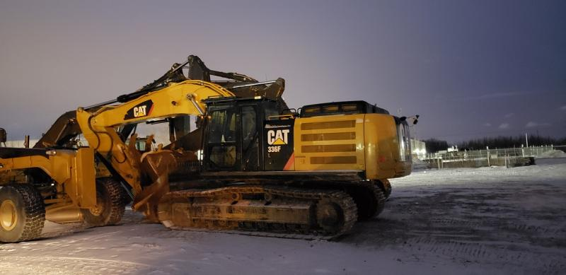 Used Caterpillar 336F L excavator for sale in Alberta