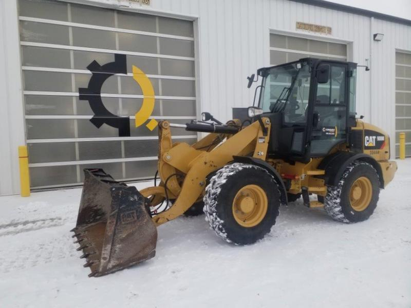 Compact wheel loader rental in Saskatchewan