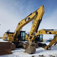 Used Cat excavators for sale in ND