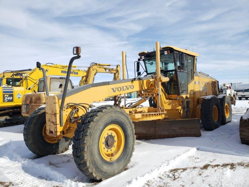 Used Volvo G976 grader for sale in ND
