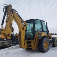 Used Cat 420 backhoe for sale in MB