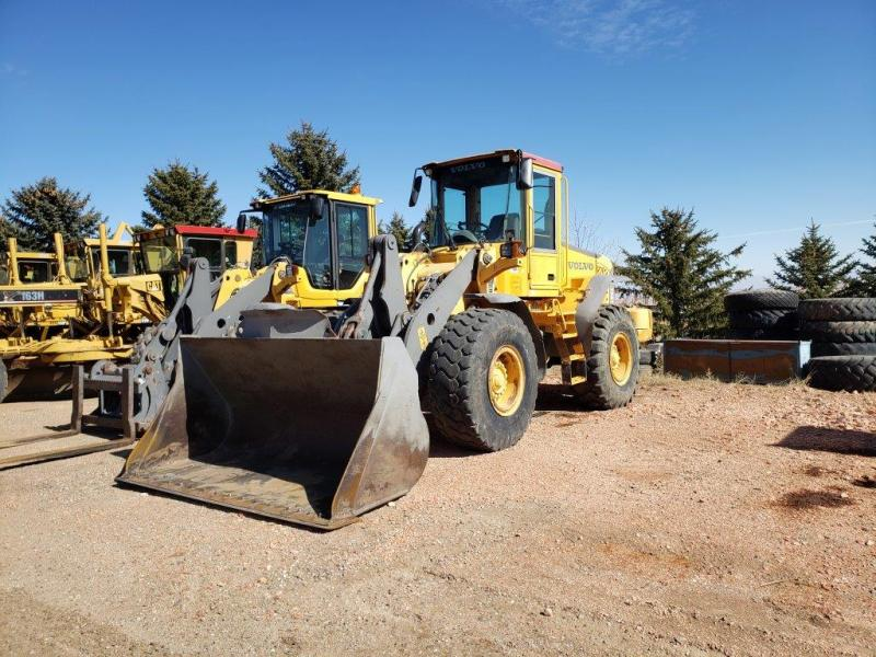 Used Volvo L90E wheel loader for sale