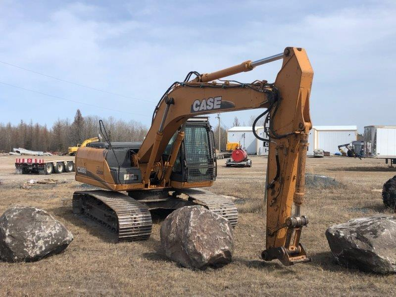 Used Case excavators for sale in MB