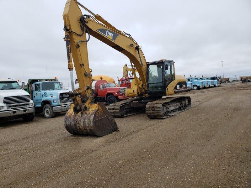 Used Cat 320CL excavators