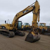 Used 20 ton excavator for sale in ND