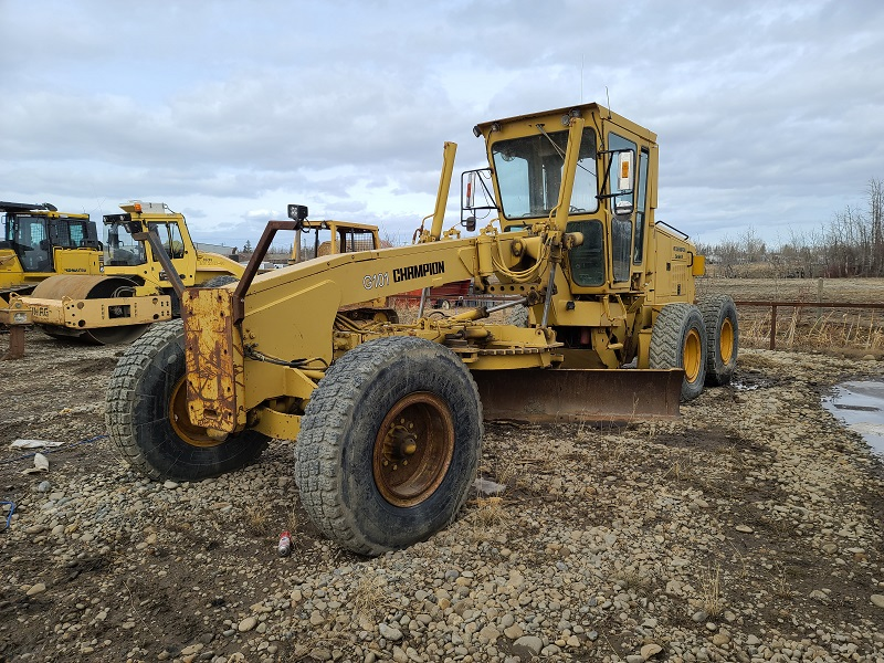 Used Champion graders for sale in BC
