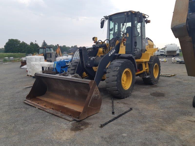 Used Deere 444K loader for sale in ON