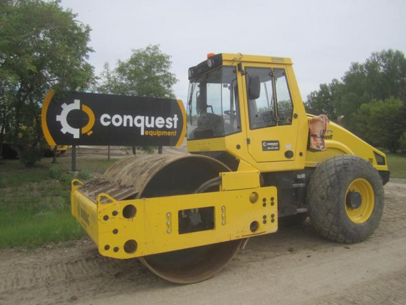 Bomag soil compactor for sale or rent in Manitoba, Alberta, Minnesota