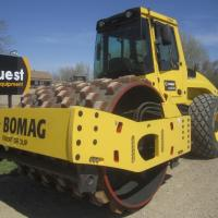 Bomag smooth drum compactor for sale in SK, MB, AB, ND, MN, BC, MT