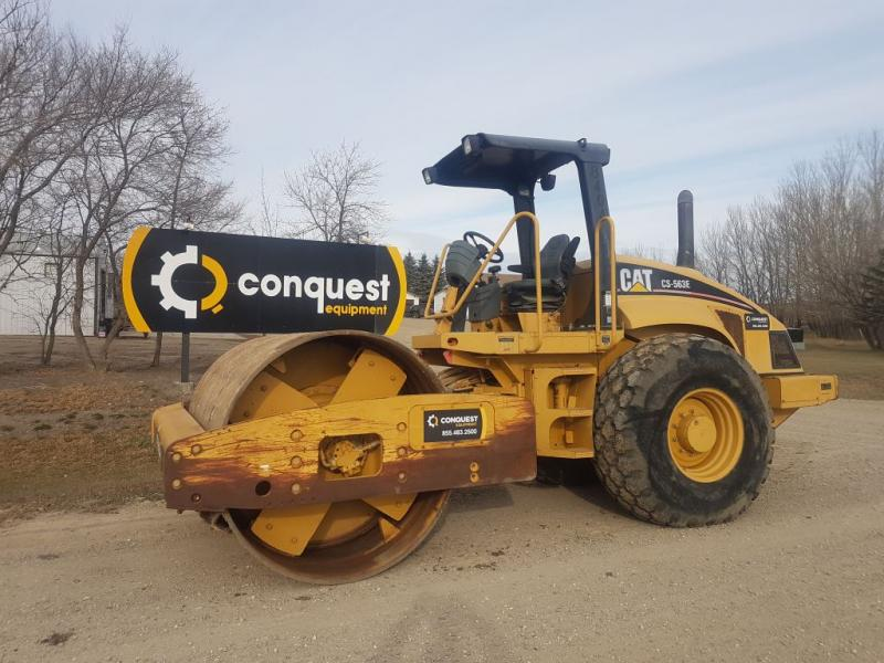 Cat smooth drum roller for sale or rent in Sask, Manitoba, Alberta