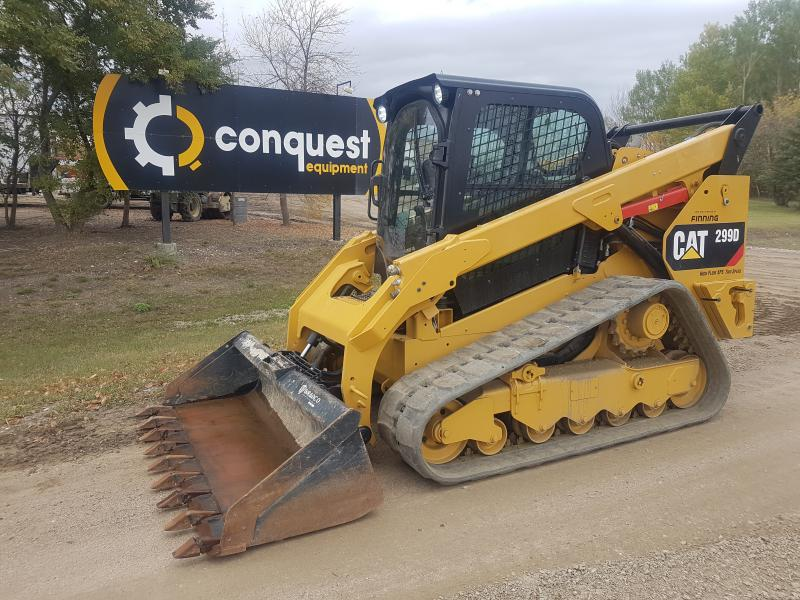 Track loader Cat 299D for sale in Western Canada