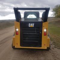 compact track loader Cat 299D alberta