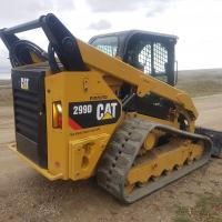Track loader Cat 299D for sale ab