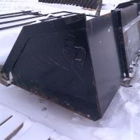 "96"" snow bucket skid steer"
