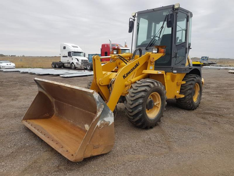 used Kawasaki wheel loader for sale in Saskatchewan, North Dakota