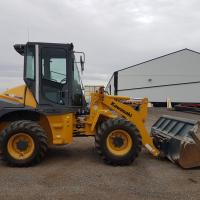 Kawasaki wheel loader for sale or rental in AB, BC, SK, MB, ND