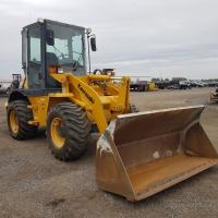 wheel loader with 1.2 yd bucket rental in Manitoba, Saskatchewan