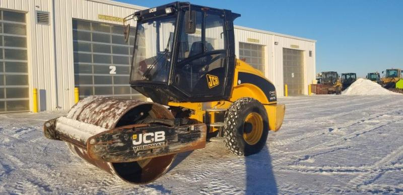 JCB compactors for rent in Saskatchewan