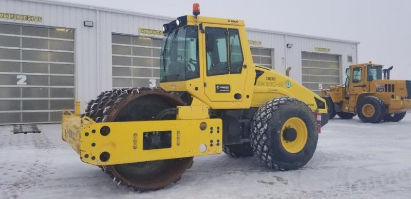 Bomag compactors for sale or rent in SK, AB