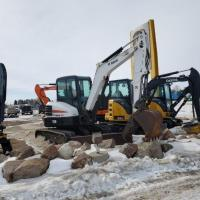 Bobcat 5 ton mini ex for sale in North Dakota